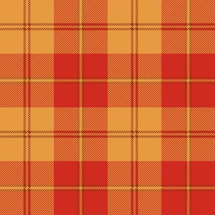 红色橙色花格子布背景图片