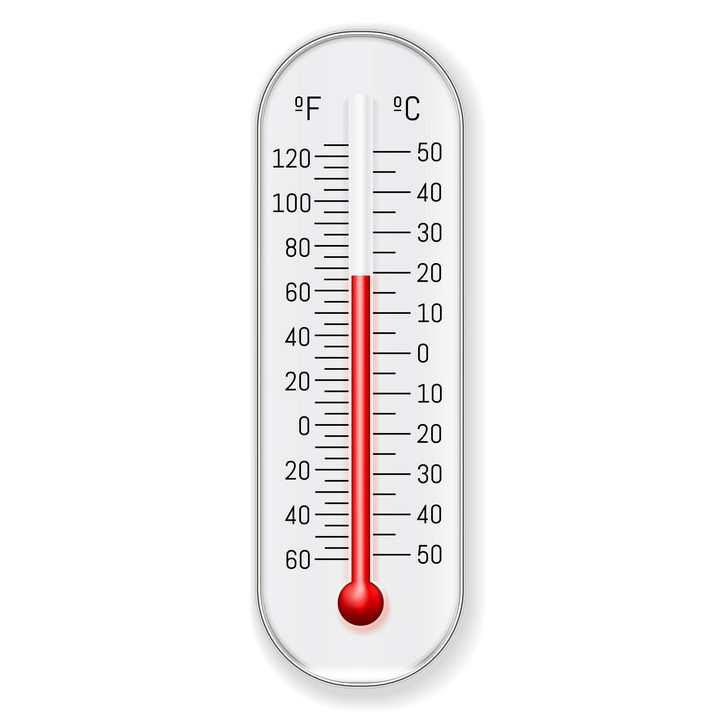 一款日常使用的水银温度计图片免抠矢量素材