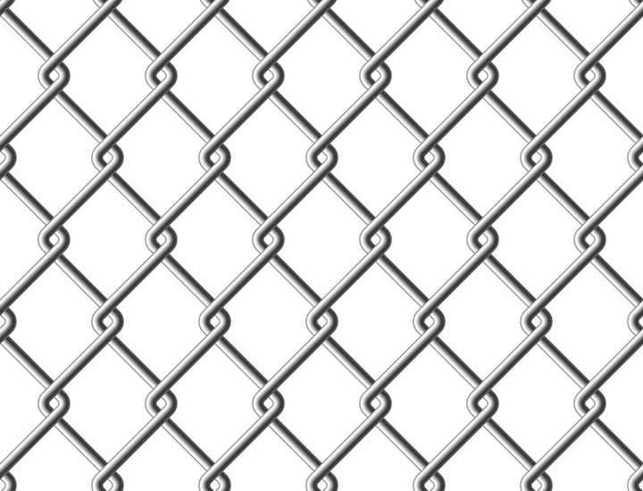 镂空交织的铁丝网背景图