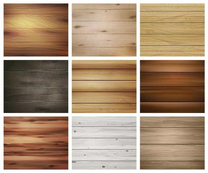 9款各种木板木头纹理背景图png图片免抠矢量素材