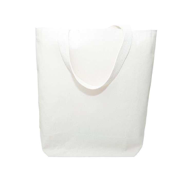 简约的白色帆布袋购物袋图片设计模板素材
