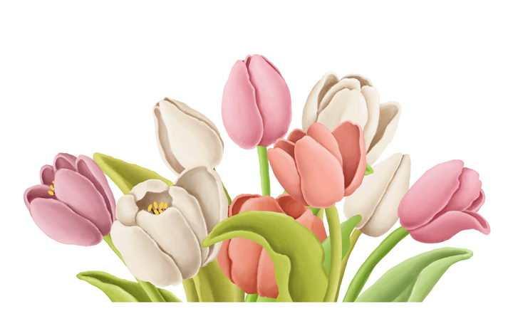 捏橡皮泥手工制作的百合花鲜花花朵作品图片设计模板素材