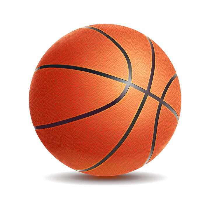 逼真的篮球体育运动球类图片免抠矢量素材