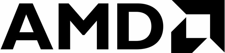 黑色AMD标志logo png图片免抠素材 标志LOGO-第1张