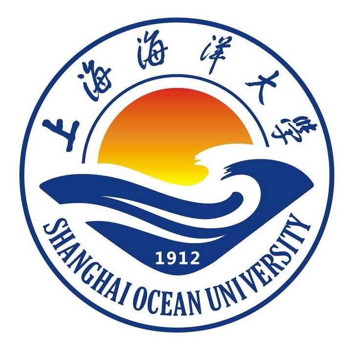 上海海洋大学校徽png图片免抠素材