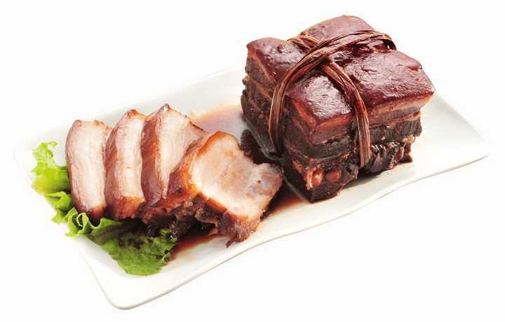 一碗美味的杭州东坡肉png图片免抠素材