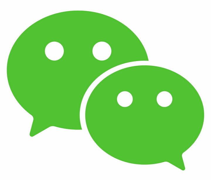 绿色微信logo png图片免抠素材 标志LOGO-第1张