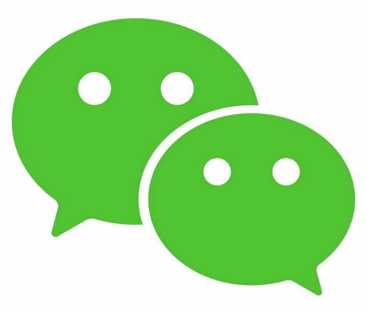 绿色微信logo png图片免抠素材