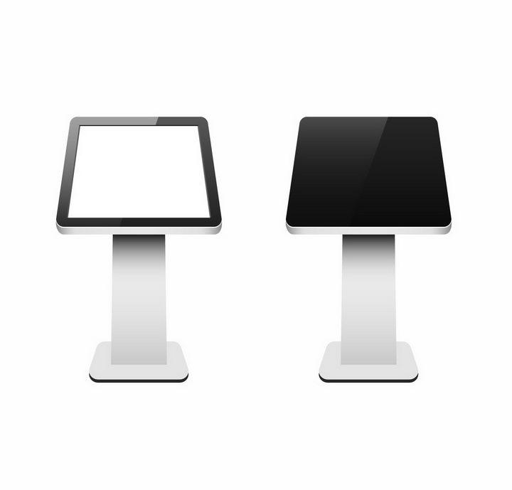 两款触摸一体机卧式广告机png图片免抠矢量素材 IT科技-第1张