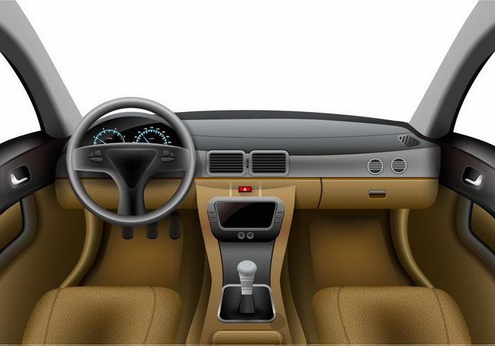 汽车驾驶室视角png图片免抠矢量素材 交通运输-第1张