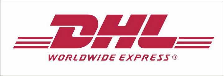 红色快递公司DHL世界品牌500强logo标志png图片免抠素材