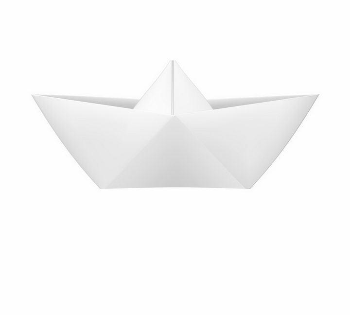 标准的折纸船png图片免抠矢量素材 休闲娱乐-第1张