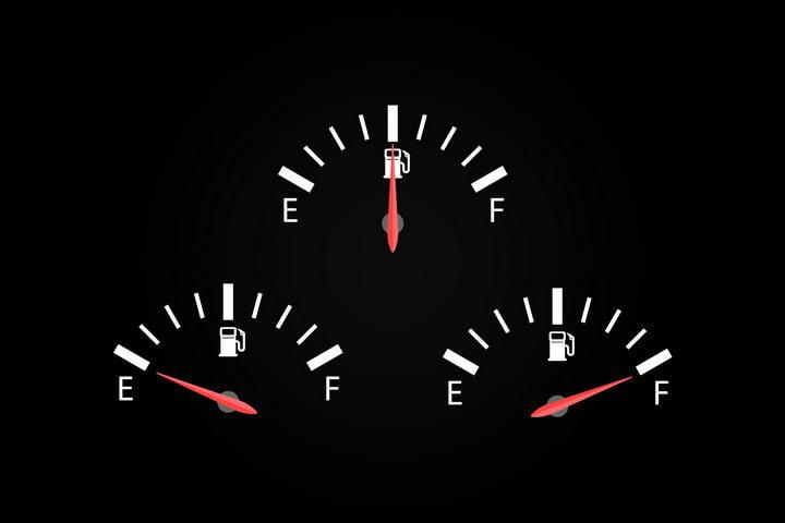 3款汽车油表和指针png图片免抠矢量素材 交通运输-第1张