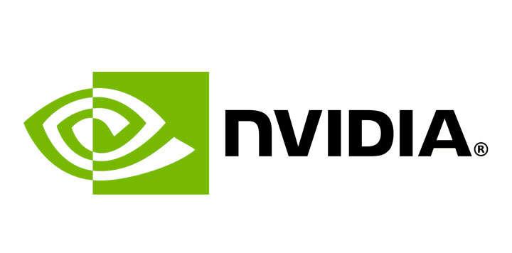 横版显卡厂家英伟达Nvidia世界品牌500强logo标志png图片免抠素材