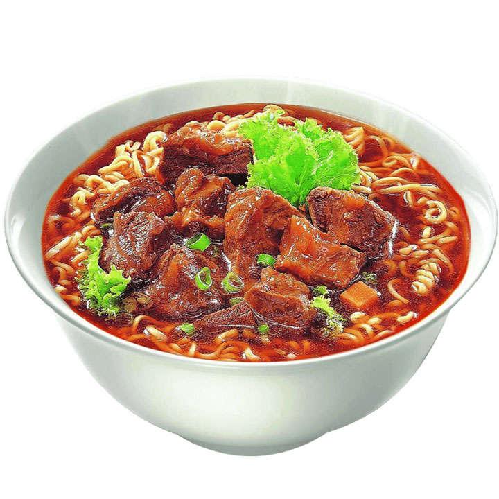 一碗美味的的小排面美食面条png图片免抠素材