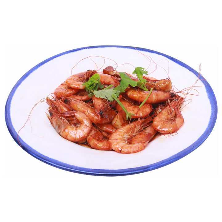 美味的油焖大虾png图片免抠素材