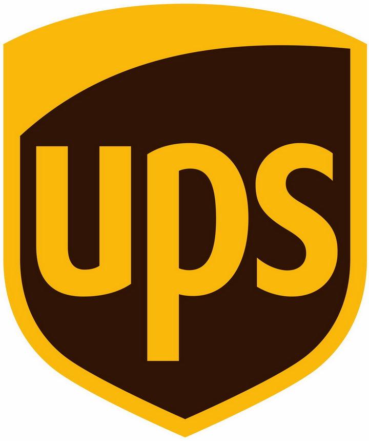 扁平化风格联合包裹UPS快递世界品牌500强logo标志png图片免抠素材 标志LOGO-第1张