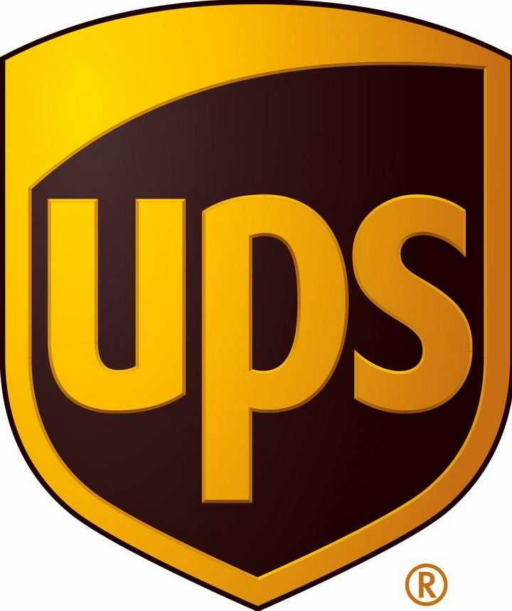 联合包裹UPS快递世界品牌500强logo标志png图片免抠素材