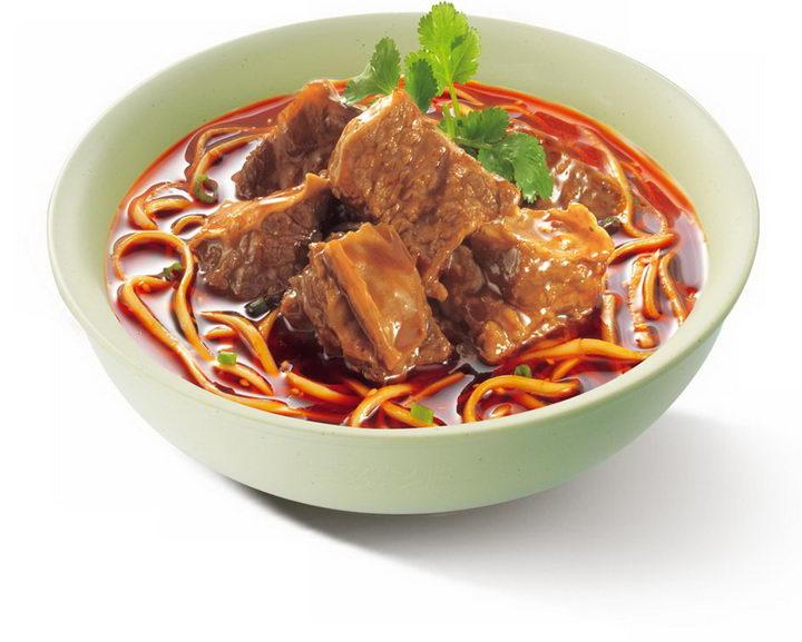 一碗美味的的红烧牛肉面美食面条png图片免抠素材 生活素材-第1张