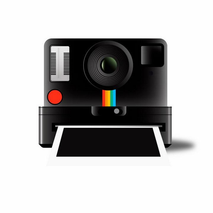 拍立得照相机png图片免抠矢量素材 IT科技-第1张