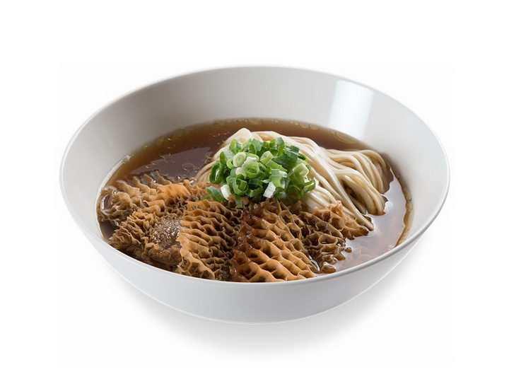 一碗美味的牛肚面美食面条png图片免抠素材