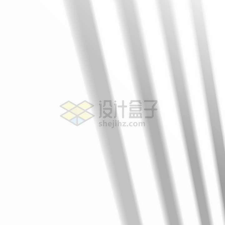 四根栅栏在墙上的影子png图片免抠矢量素材