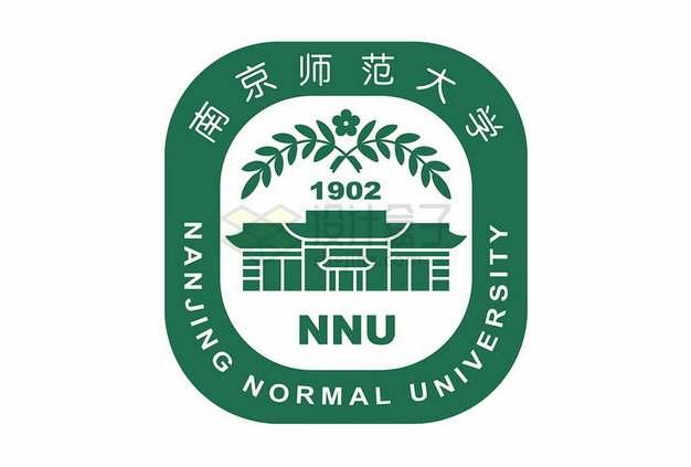 南京师范大学logo校徽标志png图片素材