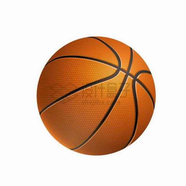 逼真的篮球png图片免抠矢量素材