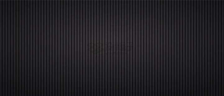 立体竖线条纹组成的金属质感黑色背景图png图片免抠矢量素材