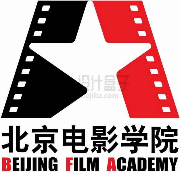 北京电影学院 logo校徽标志png图片素材