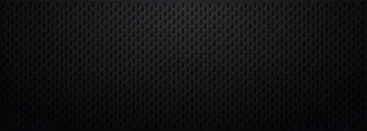 密集椭圆形小坑花纹组成的金属质感黑色背景图png图片免抠矢量素材