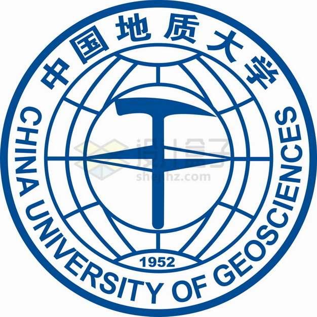中国地质大学logo校徽标志png图片素材