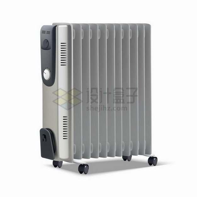 逼真的家用电暖气片取暖器散热器png图片免抠矢量素材