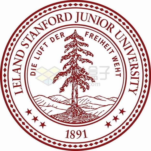 斯坦福大学 logo校徽标志png图片素材