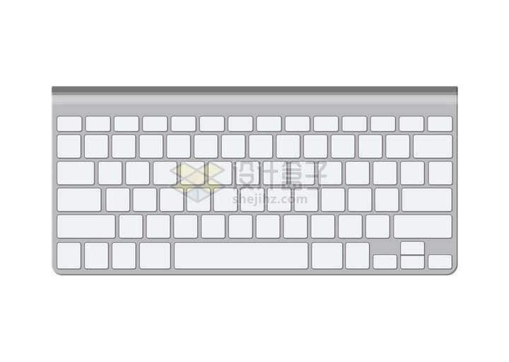 空白键盘的苹果键盘Wireless Keyboard png图片素材