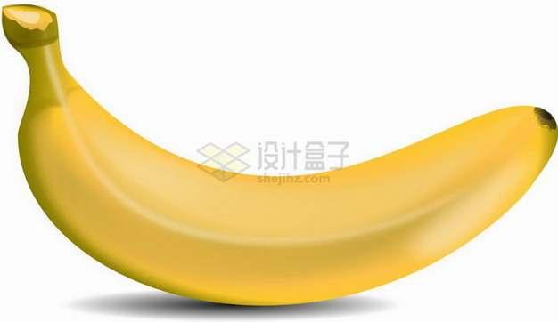 一根黄香蕉仙人蕉png图片素材