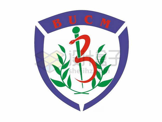 北京中医药大学校徽logo标志png图片素材