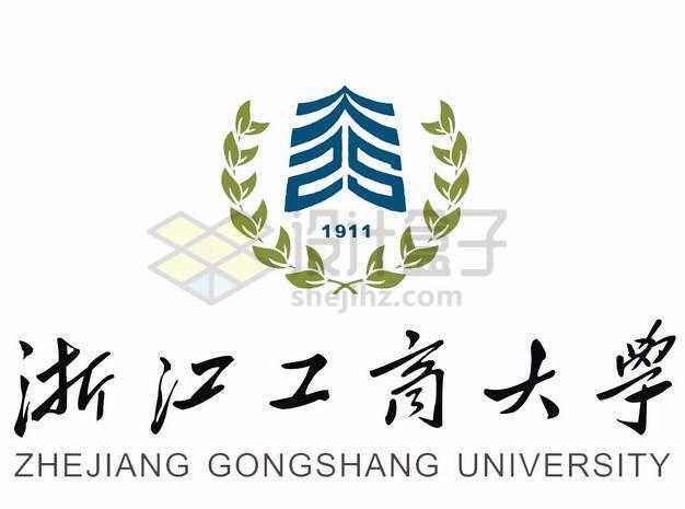 浙江工商大学校徽logo标志png图片素材