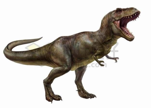 特暴龙霸王龙大型食肉恐龙png图片免抠素材