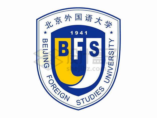 北京外国语大学校徽logo标志png图片素材