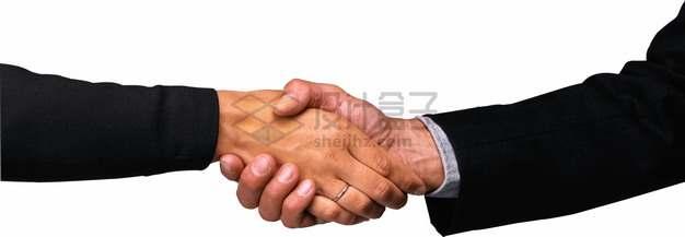 两只握手的商务人士的手png图片素材