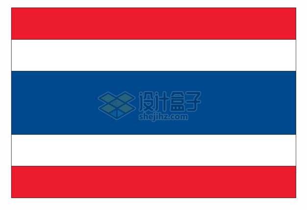 泰王国泰国国旗图案png图片素材