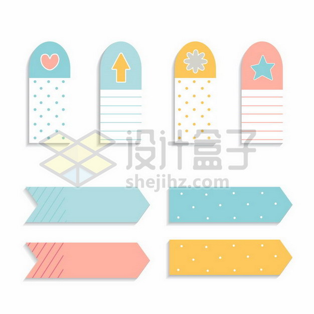 孟菲斯风格糖果色标签3692505png图片素材 装饰素材-第1张