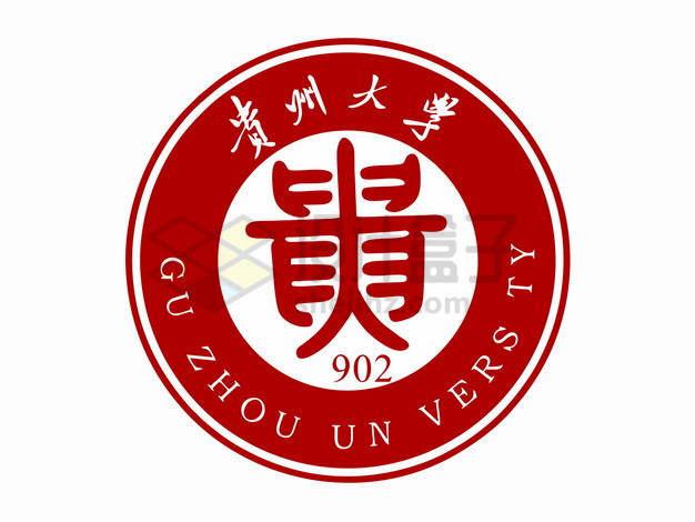 贵州大学校徽logo标志png图片素材