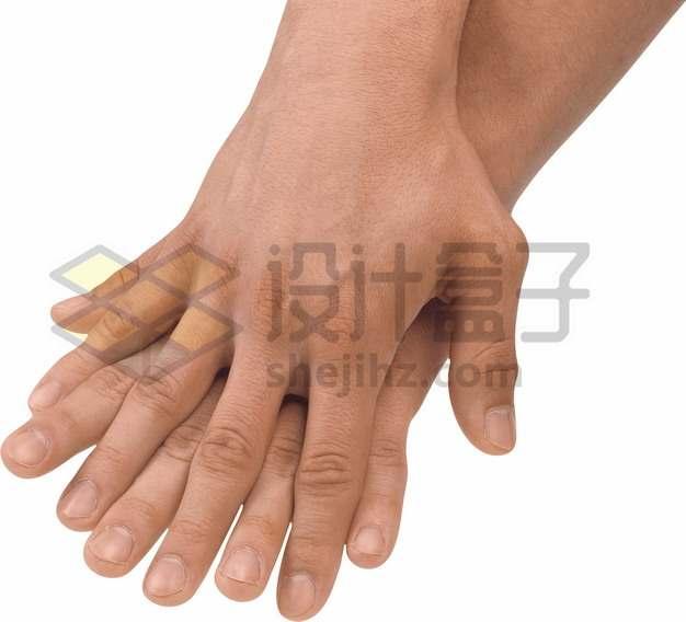 情侣双手十指相扣动作png图片素材