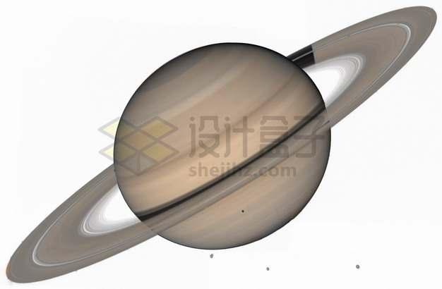 美丽的星球高清土星和土星光环png图片素材