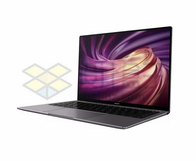 华为笔记本电脑matebook x pro侧视图41764562png图片素材