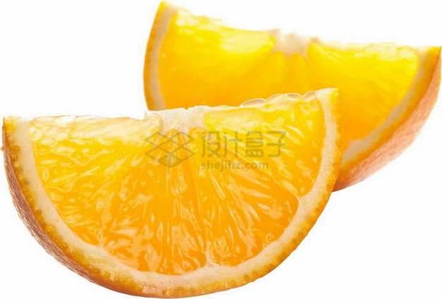 切开的橙子甜橙png图片素材