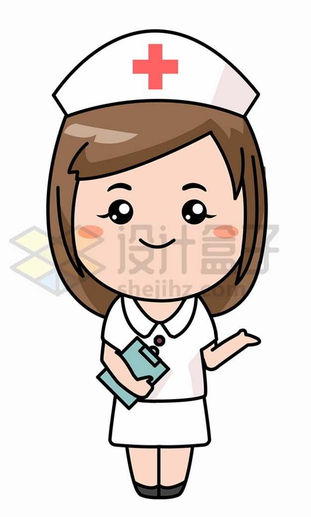 可爱的卡通护士14239853png图片素材