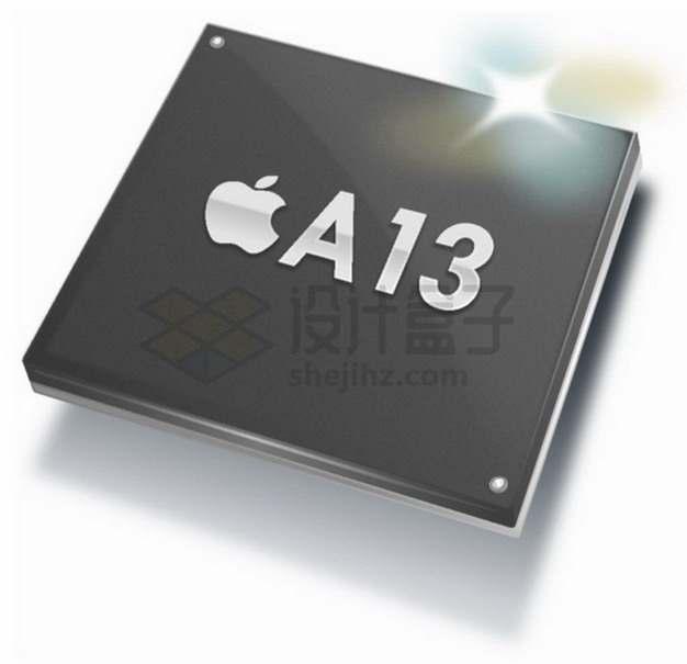 苹果A13移动处理器png图片素材